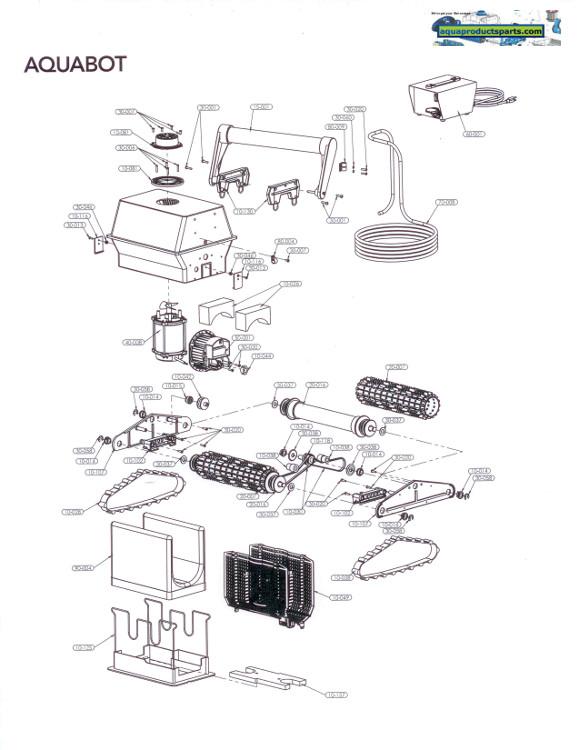 Parts By Cleaner Aquabot Aquabot Parts Aqua Products